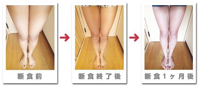 断食効果 脚